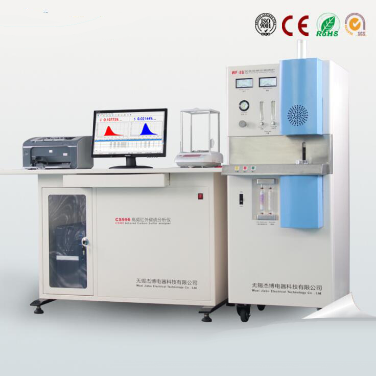 Dụng cụ phân tích Supply elemental analysis instrument metal element carbon and sulfur analyzer anal