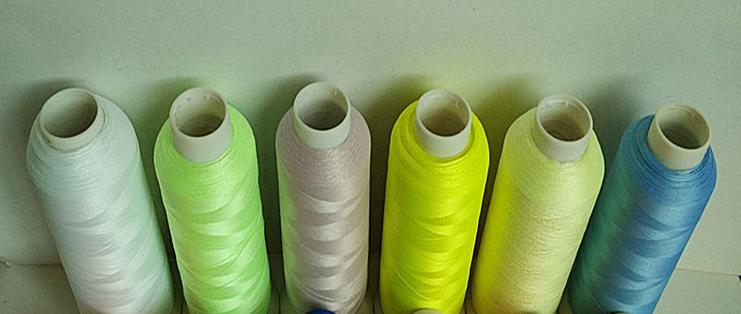 Luminous silk luminous line 150 d / 2 luminous embroidery thread