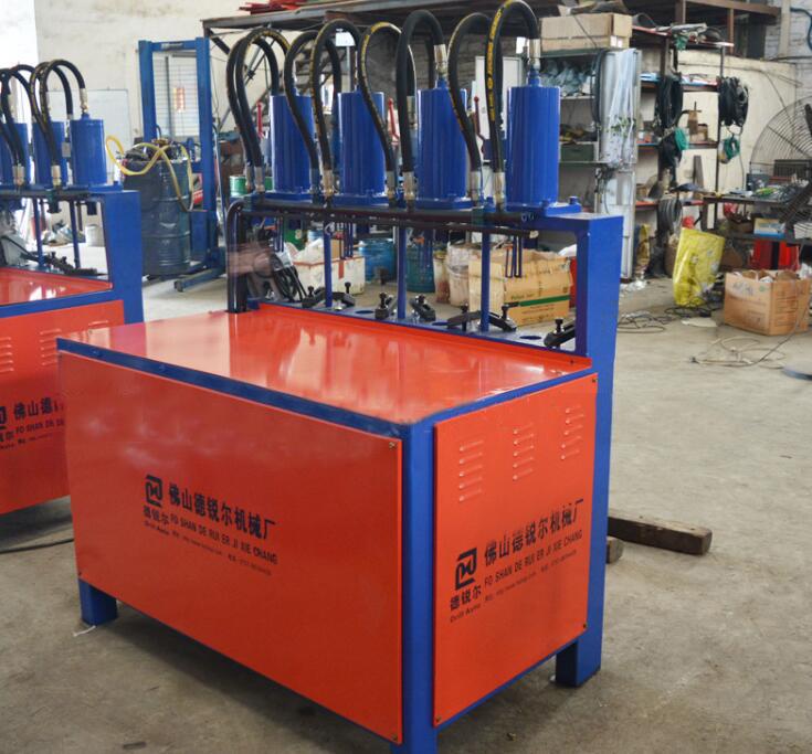 Zinc steel guardrail automatic presses, automatic punch supermarket shelves auto theft window punch