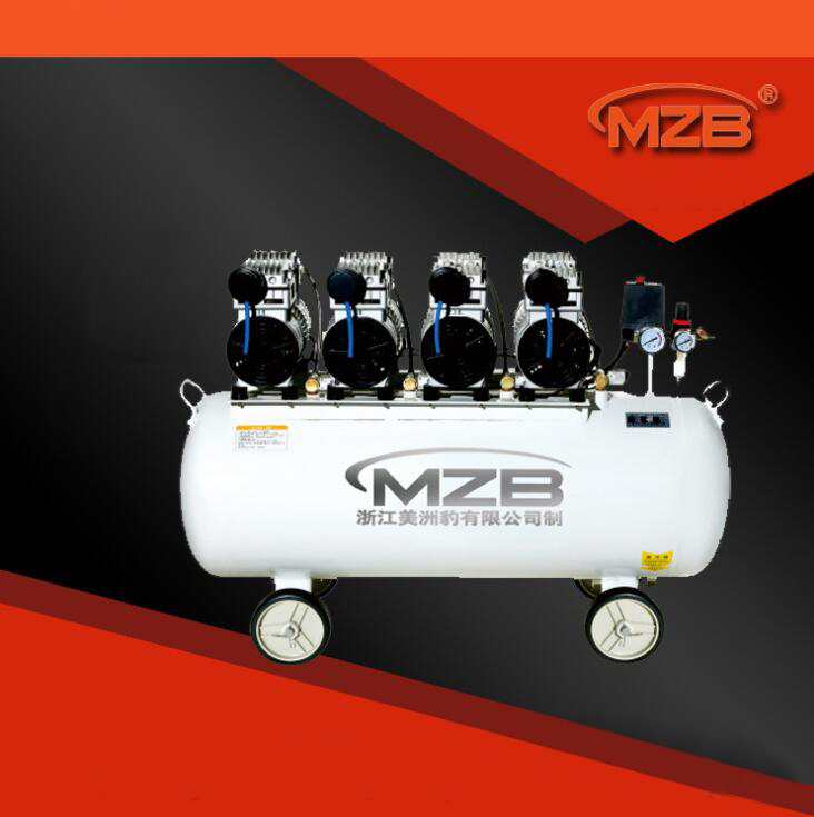 Máy nén khí  Oil free compressor mute pump air compressor air compressor 220V industrial air compre