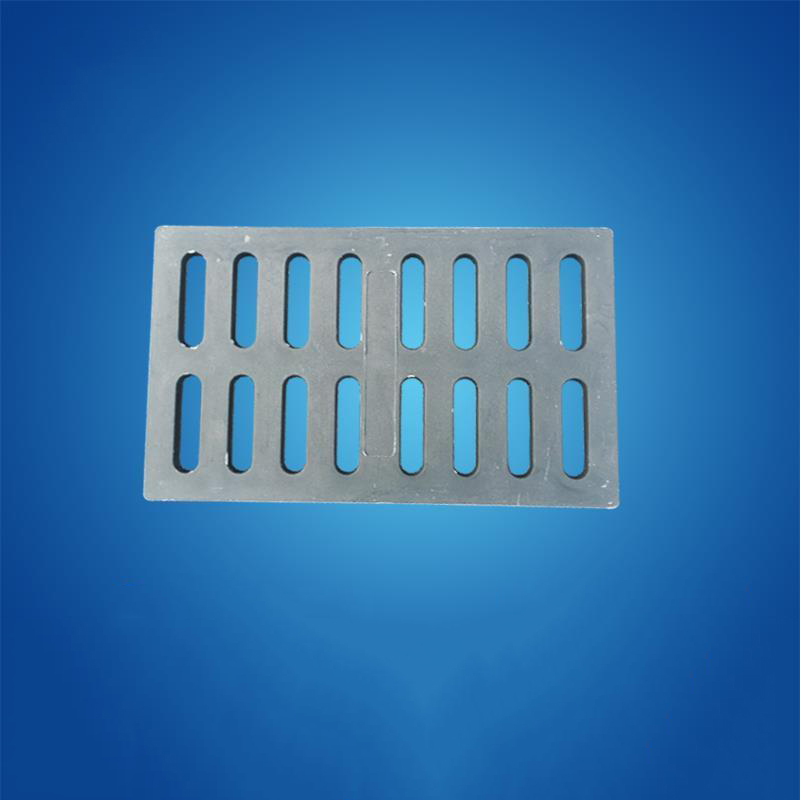 Nắp cống Factory direct composite manhole ditch cover water grate 300x500x30mm heavy resin material