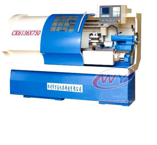 Máy tiện CNC  CK6136 CNC lathe factory direct supply adequate supply