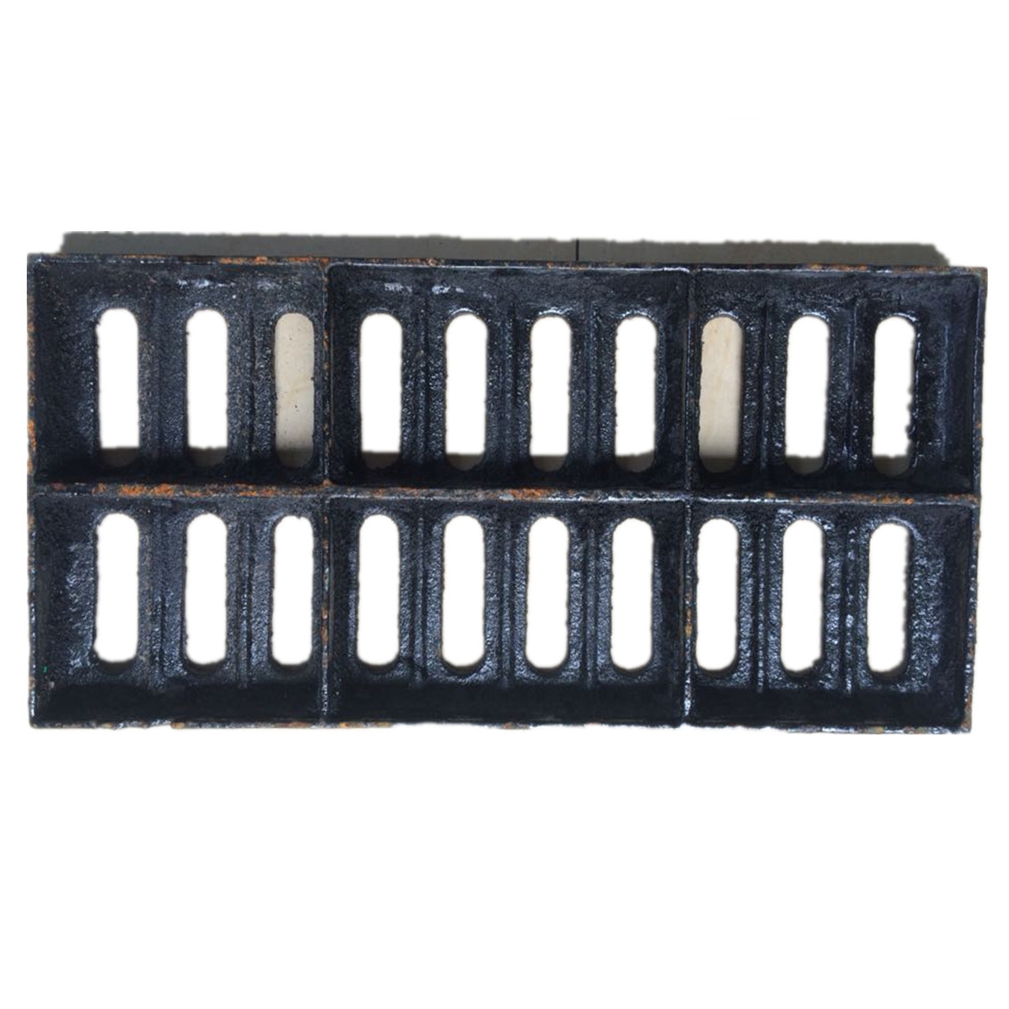 Nắp cống  Nodular cast iron manhole sewer grate ditch cover rain drain ditch cover kitchen trench c