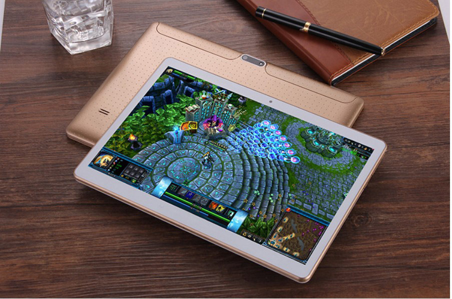 Wholesale tablet 12 inch flat eight-core 10-inch Tablet PC 4G calls IPS screen with GPS45622