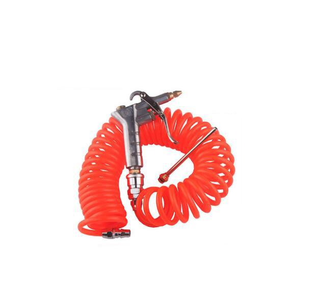 Dụng cụ bằng hơi  Copper adjustable fan nozzle high pressure pneumatic gun blowing dust gun hair du