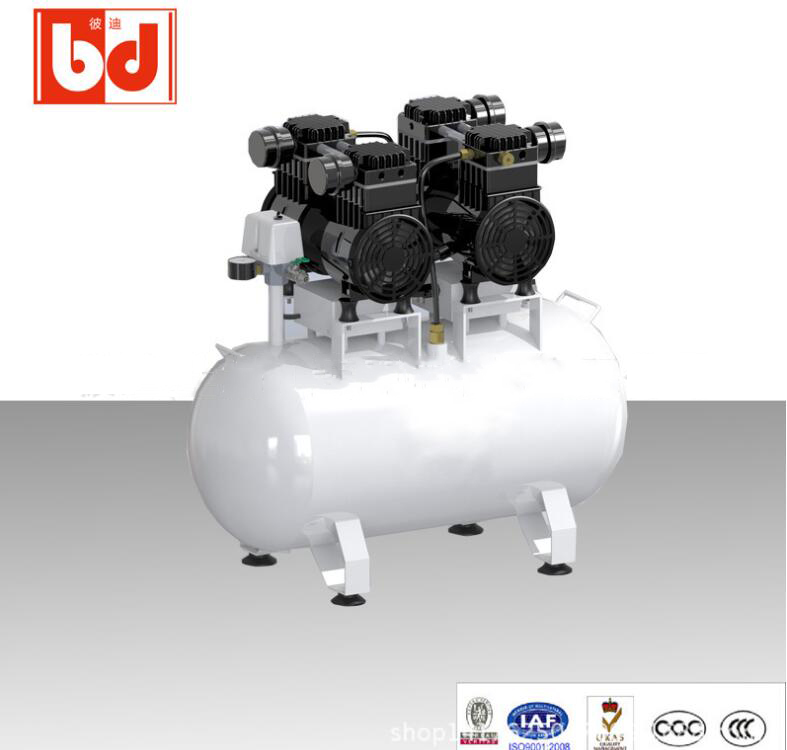 Máy nén khí  High pressure oil free compressor small oil free pump imported oil free air compressor