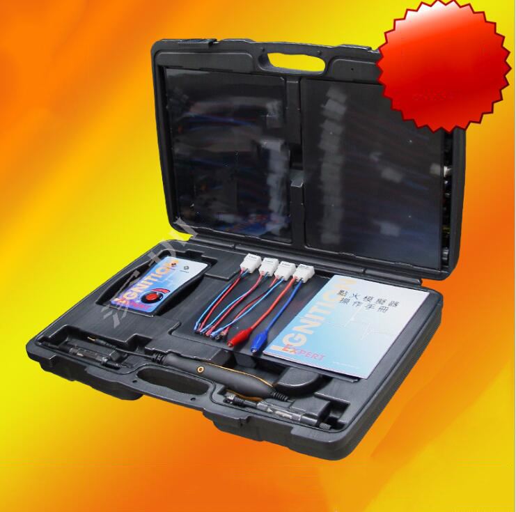 Dụng cụ chuyên dùng  High voltage ignition coil simulation tester automobile ignition signal genera