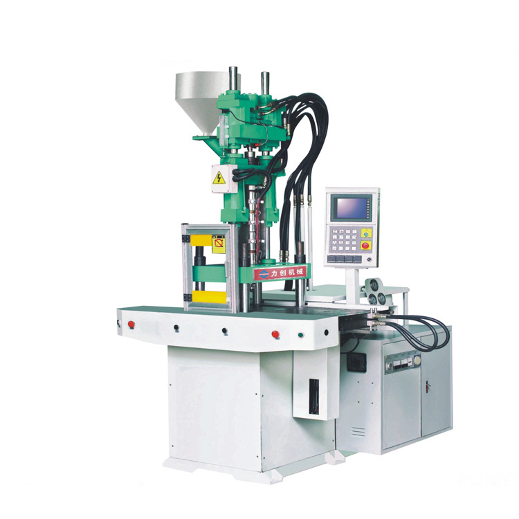 Máy ép nhựa  Manufacturers wholesale double slide vertical injection molding machine tool life appl