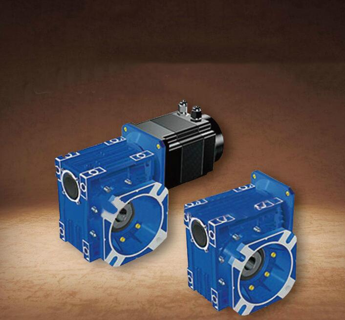 Máy giảm tốc  FS63 precision servo dedicated reducer 1.5KW servo worm reducer gearbox 110 Stepper