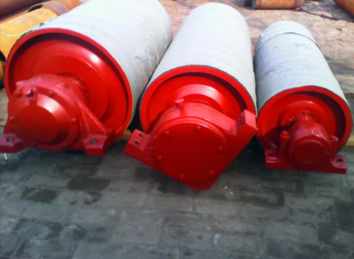 Con lăn   Supply Pingdingshan coal mine explosion-proof electric drum, drum kits of plastic process