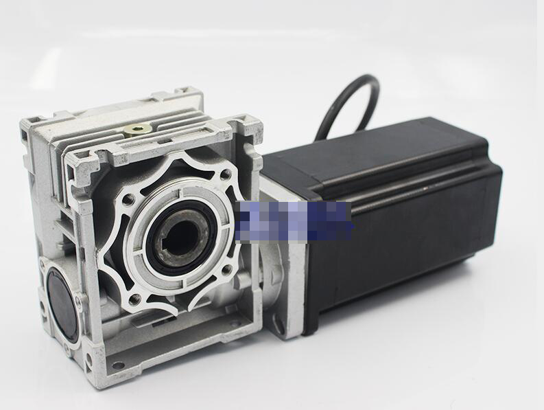 Máy giảm tốc  86 worm gear stepper motor torque reduction ratio 80N.M selectable speed motor