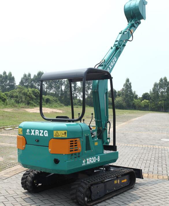 Máy đào đất  Domestic small excavators brands