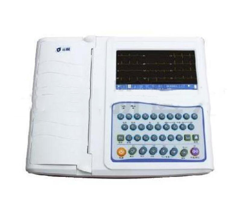 Dụng cụ chuyên dùng  [supply] Guangzhou Maixin three sharp ECG-3312B twelve channel ECG / EKG machi