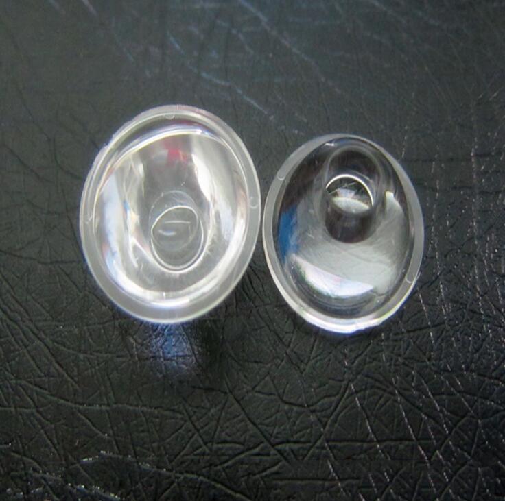 Đèn LED thấu kính Led 20mm single lamp lens 30 degrees smooth lens manufacturers selling in Zhongsha