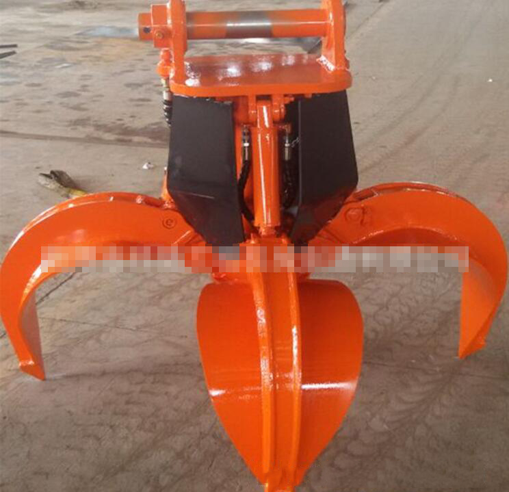 Máy đào đất  Excavator modified steel machine grasping, grasping steel machine, hydraulic steel mac
