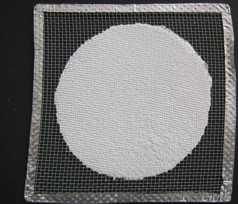 Dụng cụ thí nghiệm  Asbestos network of asbestos network insulation clay network is 14 * 14 cm and