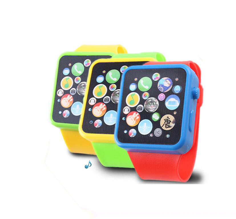 Early childhood educational watches multifunction flash music toy educational toys parent-child inte