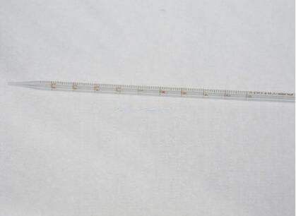 Dụng cụ thí nghiệm  Scale straw 2 ml ring the pipet calibration precision accuracy of 0.02 ml glass