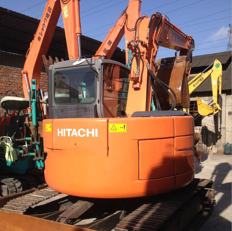 Máy đào đất  Sale of used Hitachi ZX120 excavator pure Japanese