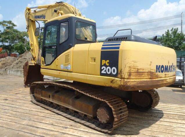 Máy đào đất  Komatsu PC200-7 excavator