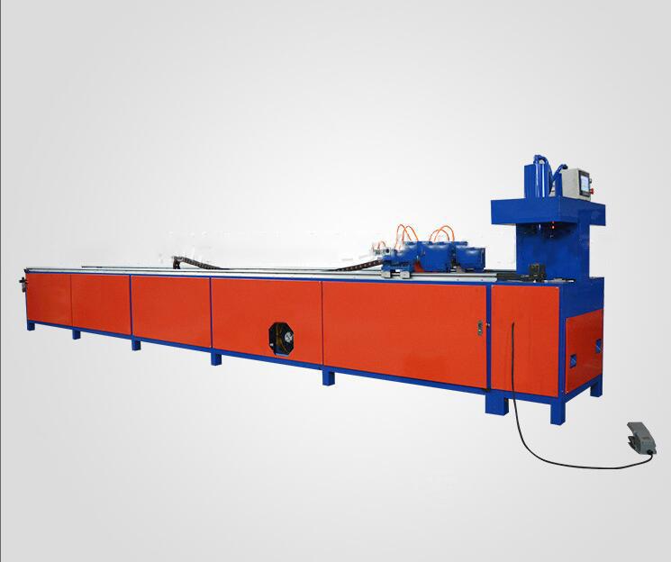 Pipe automatic punching machine CNC punching iron pipe maker High speed hydraulic presses automatic