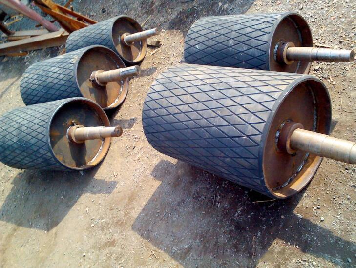 Dry run supply electric power steel drum drum drive roller conveyor roller dedicated
