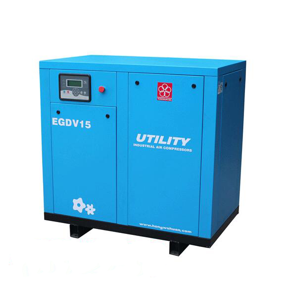 The original authentic Zhejiang hongwuhuan 0.75 cubic 5.5kW micro screw air compressor factory direc