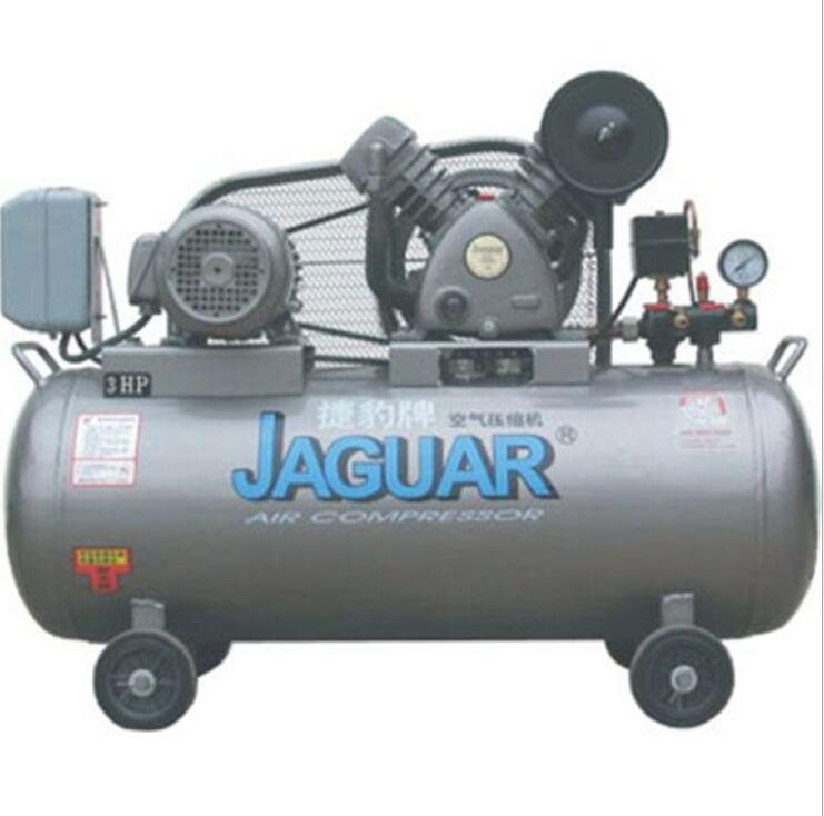 Máy nén khí   Taiwan Jaguar piston air compressor 3HP Jaguar high displacement stable piston air co