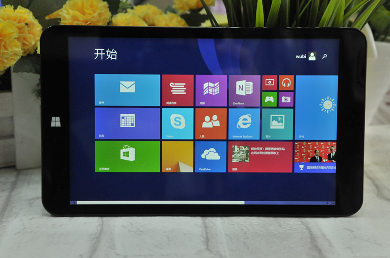 Máy tính bảng- Laptop win8 Intel quad-core Tablet PC 8-inch IPS screen dual system of genuine factor