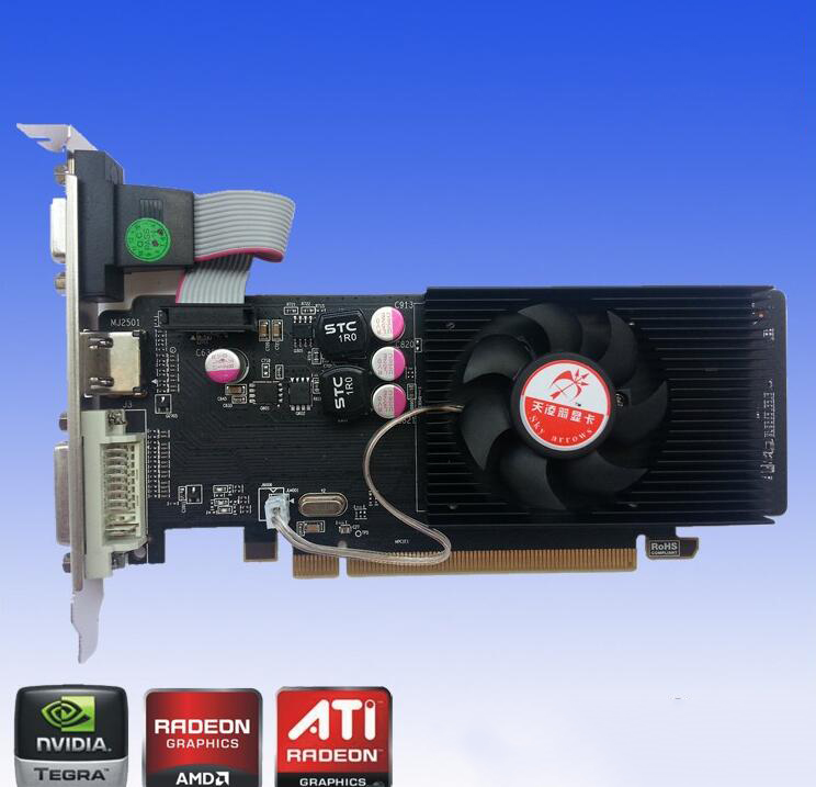 The new HD7450 real 2G graphics card manufacturers of computer accessories wholesale discrete graphi