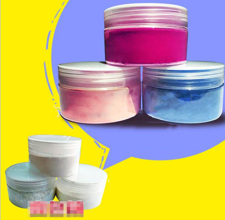 Bột than   Light change powder (uv) colorless color Color ink powder Sunlight powder anti-counterfe