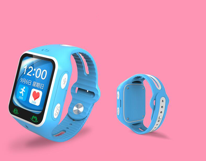 Bami children touch screen GPS positioning watch card call security guard without a Bluetooth pedome