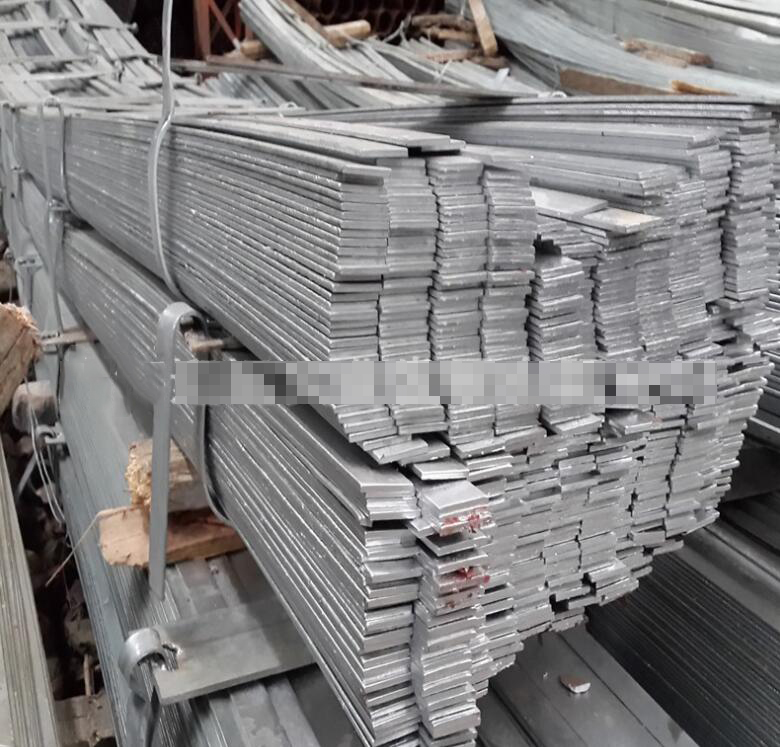 Jiangsu, Zhejiang shelf Hot-rolled flat steel galvanized flat iron 40 * 4 cold galvanized flat steel