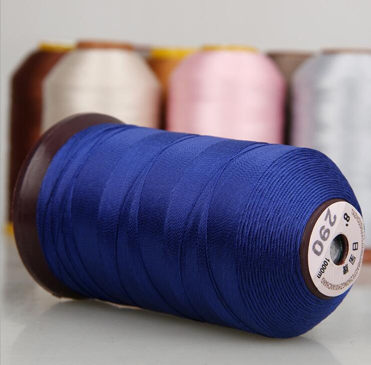 Dây kim loại 8 Fan import high-strength high-gloss polyester sewing thread yarn 300D * 3 leather sof