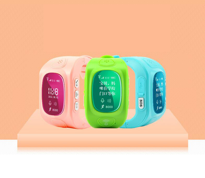 Children watch Y3 Q50 WiFi positioning precision positioning GPS emergency call two-way conversation