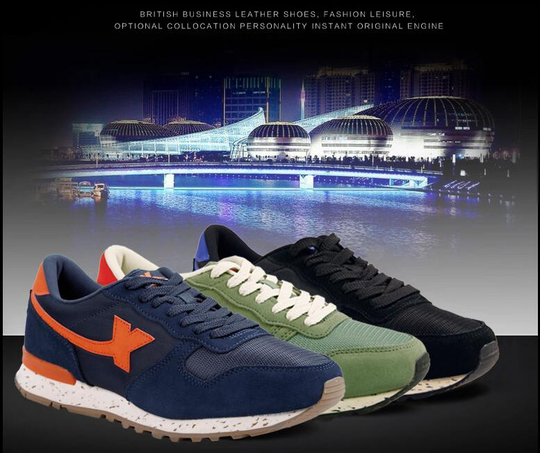 Simili tổng hợp  Xtep men's shoes sneakers men running shoes light slippery wear-resisting leisure