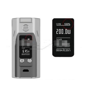 WISMEC RX200S 200W thermostat genuine original electronic cigarette gray host a generation of fat