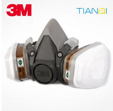 Original authentic 3M6200 respirators seven sets of 3M respirator mask painting mask