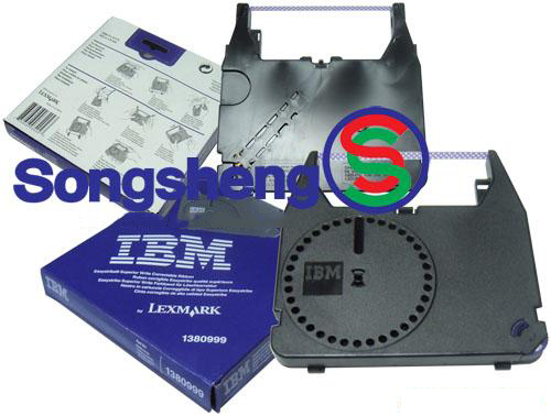 IBM typewriter ribbon 1380999 printer ribbon rack