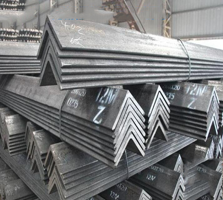 Hot galvanized angle galvanized angle iron triangle 504030 Iron Curtain Q235 equilateral triangle ra