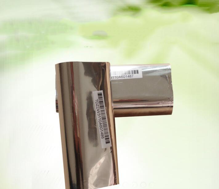 Ruy băng  Bar code printer universal quality wax ribbon 110mm 90m copperplate label printing paper