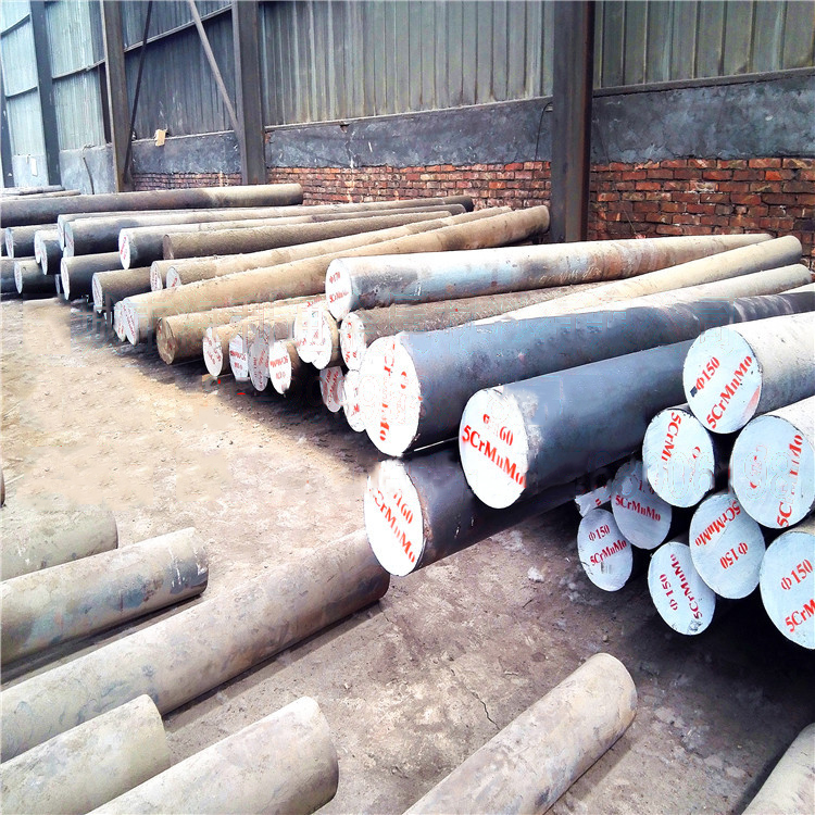 Spot sales 5crmnmo round forging excellent steel mold steel