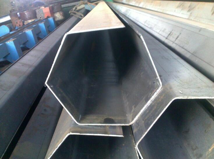 Inox Supply of 304 stainless steel hexagonal tube 316L hexagonal tube