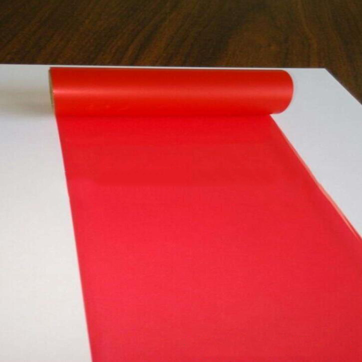 Red yellow blue color enhanced wax ribbon mixing of various specifications can be customized