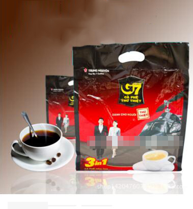 Vietnam Central Plains G7 coffee 800g imported authentic Vietnamese edition 50 packets of instant co