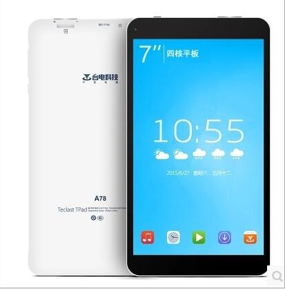 Máy tính bảng- Laptop   Teclast / Taipower A78T quad-core WIFI 8GB 7 inch HD Tablet PC Andrews 4.4
