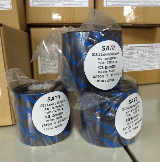 Ruy băng  Large supply genuine SATO T110A old original ribbon ribbon ribbon barcode printers