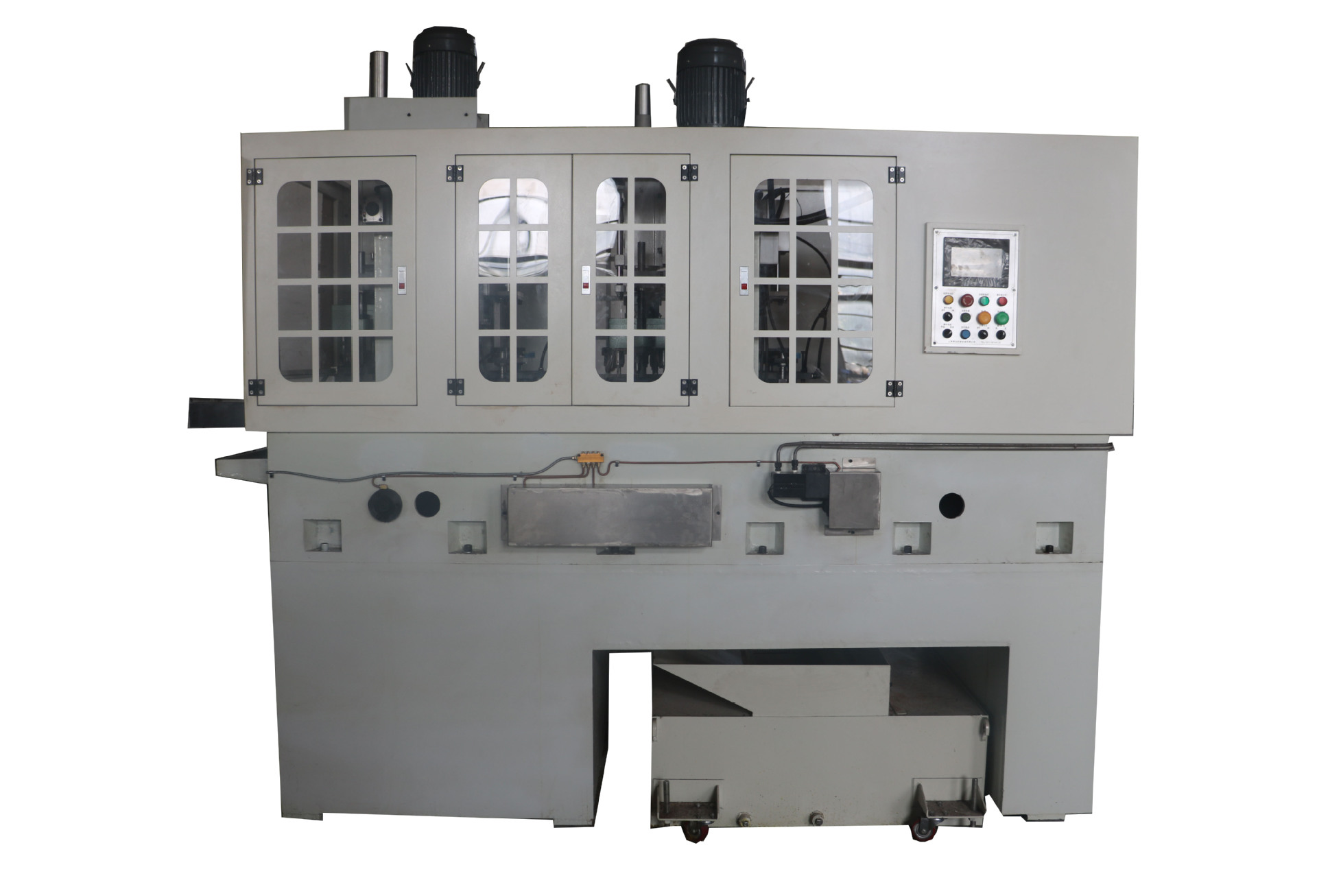 Máy công cụ  Four station fully automatic drilling tapping machine