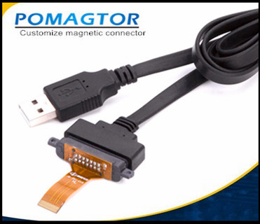 Dây USB  Magnetic data line 14PIN magnetic suction data line medical device 14PIN magnetic suction