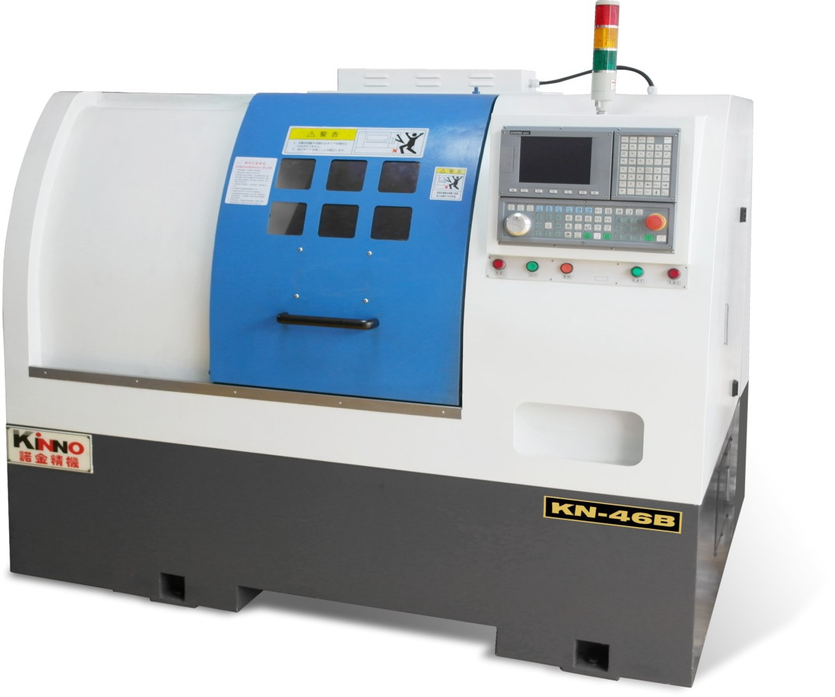 Máy công cụ   Taiwan Nuojin 46B turret CNC lathe manufacturers in Dongguan a large number of direct